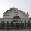 Железнодорожные вокзалы в Плюссе